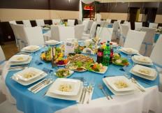 Sala bankietowa okrągłe stoły